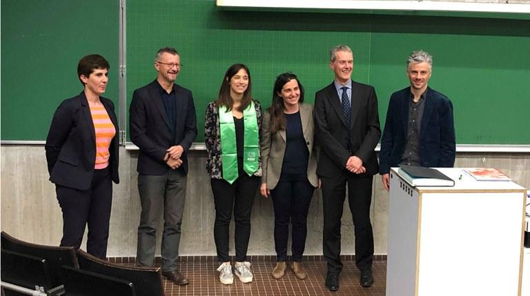 PhD defence of Noël Céline, april 8th  2019